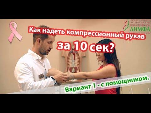 Лайфхак: надеть компрессионный рукав за 10 секунд - Иван Макаров