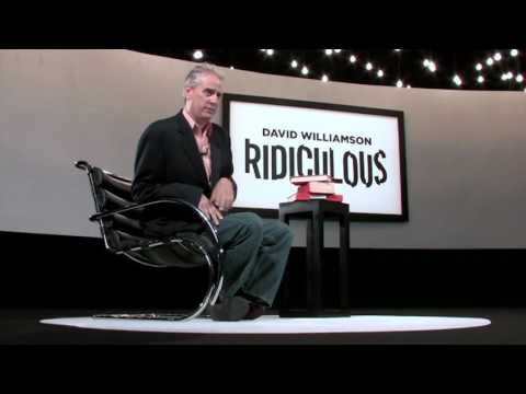 Ridiculous by David Williamson and Luis De Matos -  Trailer (Black Label Certified)