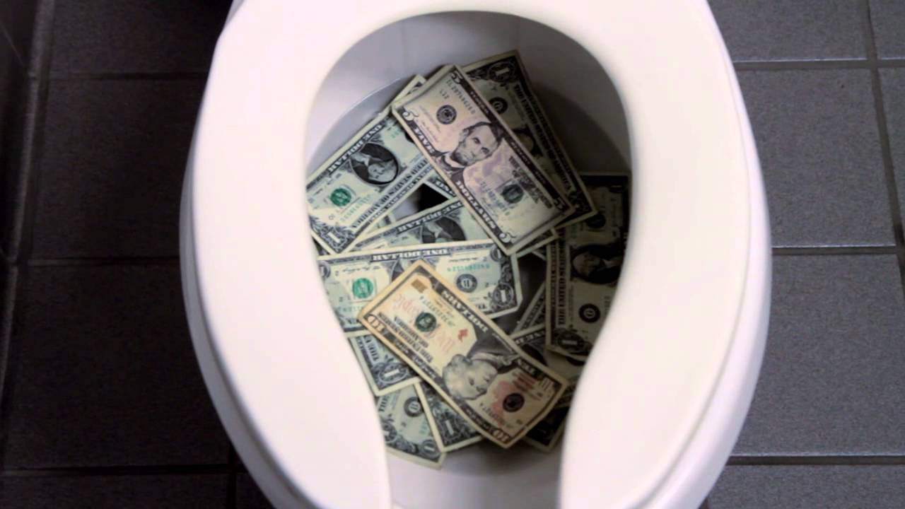 Money in the toilet full version youtube for Things that are worth a lot of money