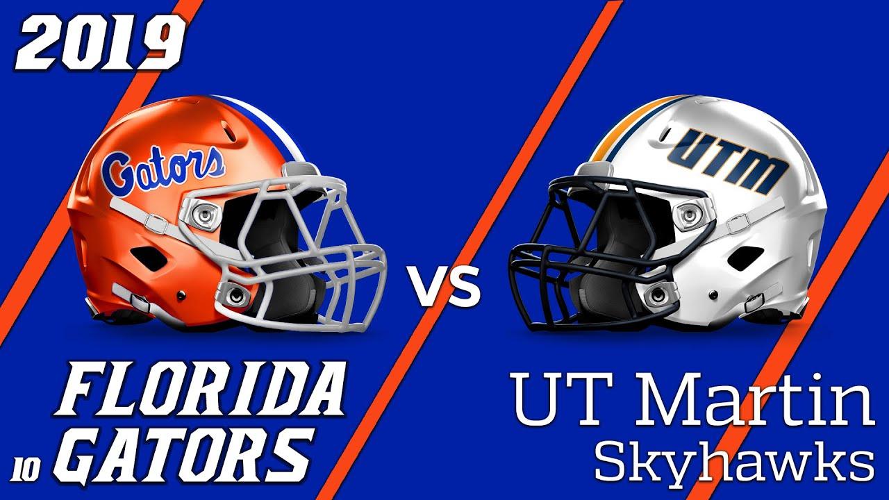 new product 54173 85e20 19.2 Florida Gators vs UT Martin Condensed