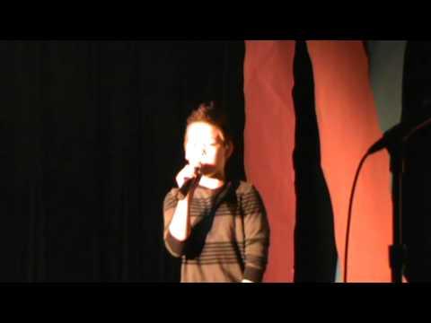 Zach Herron - Talent Show 2013