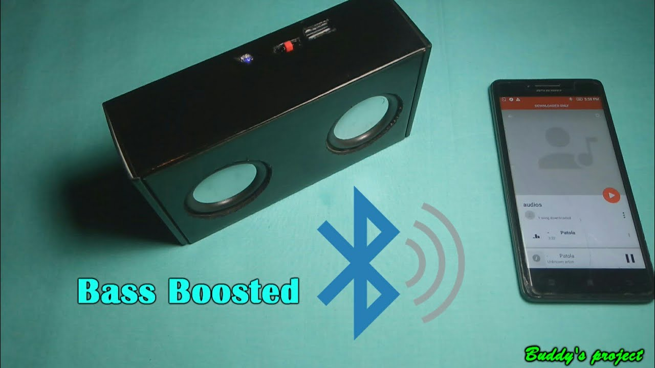 How to make a Bluetooth speaker 😎 with PAM8403 amplifier