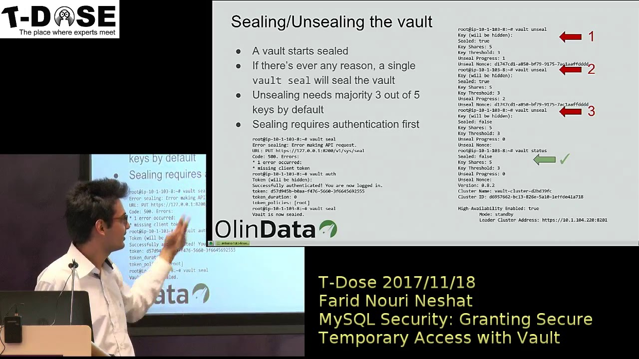 Farid Nouri Neshat MySQL Security: Granting Secure Temporary Access with  Vault