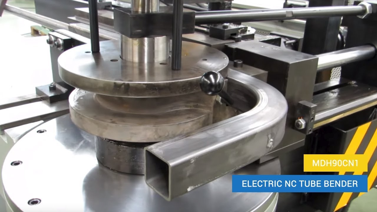 Sheet Metal Bending Machine All Industrial Manufacturers Videos >> Electric Nc Tube Bender Mdh90cn1 Square Tube Bending Amob