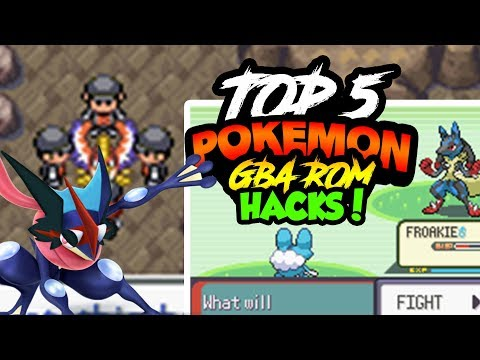 TOP 5 BEST POKEMON GBA ROM HACKS WITH DOWNLOAD LINKS - NOVEMBER 2017!