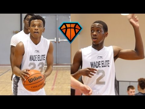 Zaire Wade & Dahveon Morris Make An IMPACT Playing Up An Age Group!! | Dwyane Wade's Son & Nephew