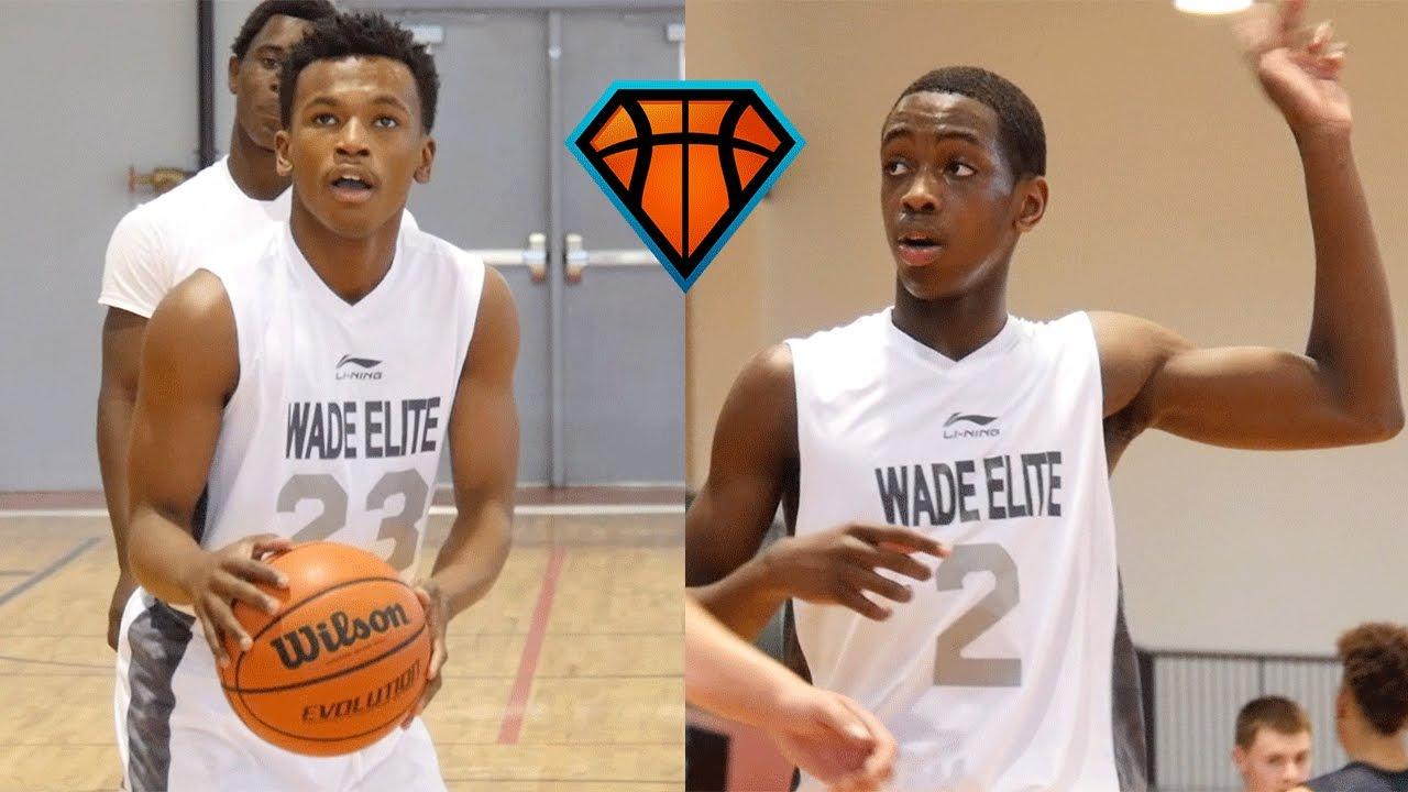 Zaire Wade & Dahveon Morris Make An IMPACT Playing Up An Age Group!! |  Dwyane Wade's Son & Nephew