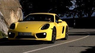 NEW Porsche Cayman S - DRIVING