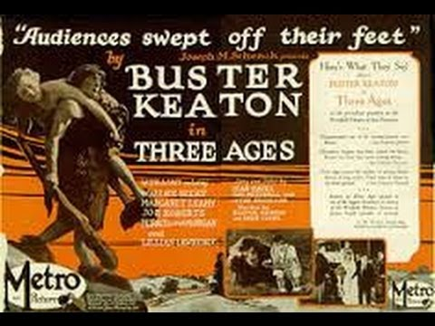 Watch Movies Free : Three Ages (1923) Silent Comedy Classic starring Buster Keaton