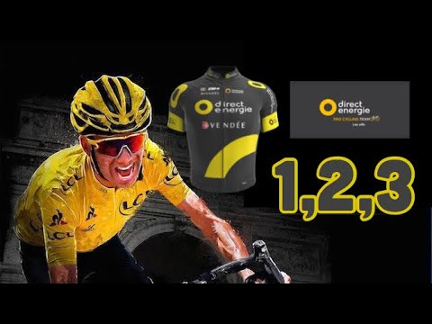 Tour de France 2017 - Direct Énergie Etapes 1,2,3