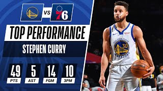 Stephen Curry Goes OFF for 49 PTS! 👨‍🍳