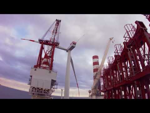 Offshore Windpark Meerwind Süd|Ost - Windenergie Filmproduktion Imagefilm interface.film windfilm.de