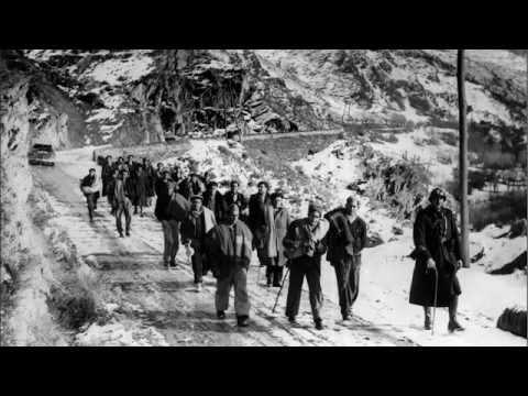 El llarg camí de l'exili - El largo camino del exilio - 1939