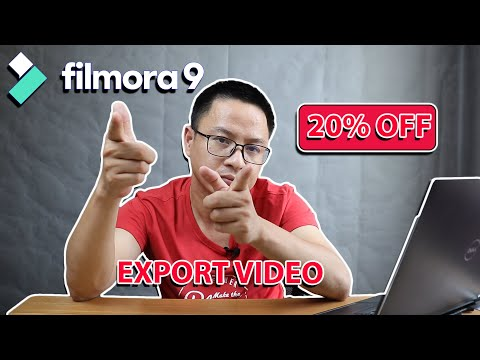 How to Export Video In Filmora9 Without Purchasing a License(Including 2...