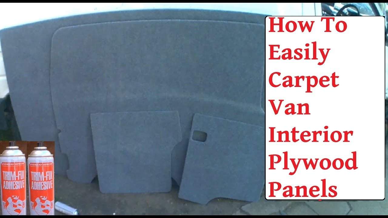 Carpet Lining VW T4 How To Ply Campervan Conversion