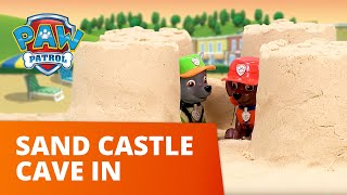 PAW Patrol   Sand Castle Cave In!   Toy Episode