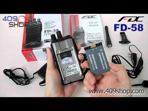 FeiDaxin FD-58 UHF 400-470mhz FM Radio