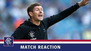 REACTION | Steven Gerrard | Rangers 6-0 Bury