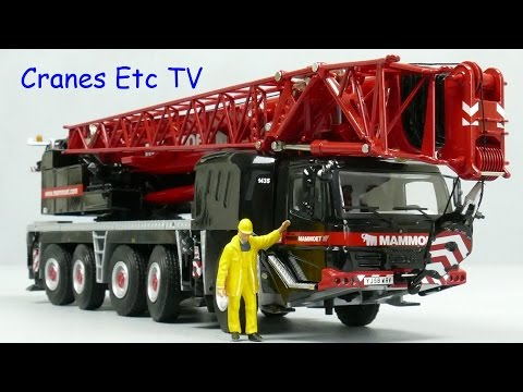 WSI Grove GMK5130-2 Mobile Crane 'Mammoet' by Cranes Etc TV