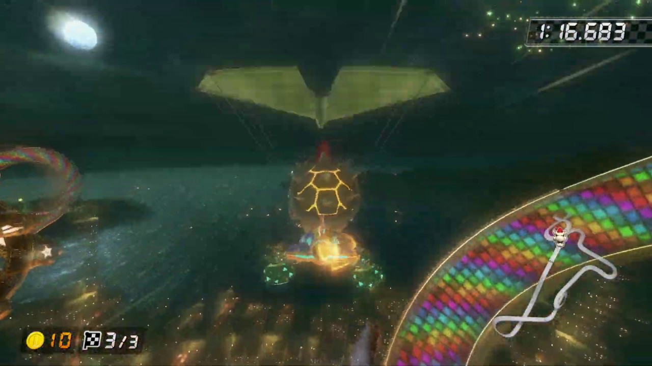 N64 Rainbow Road [150cc] - 1:20.396 - Vincent (Mario Kart 8 Deluxe World Record)