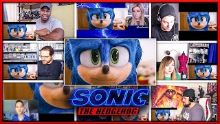 Sonic the Hedgehog NEW Trailer Reactions Mashup