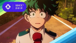 My Hero Academia and Dragon Ball Z Dominate Anime Talk at SDCC - Comic Con 2019