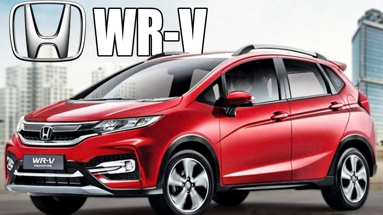 Honda WR-V To Launch In India In March 2017 - YouTube