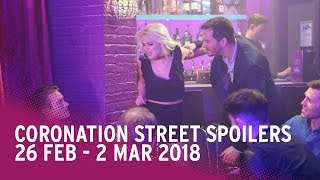 Coronation Street spoilers: 26 February - 2 March 2018 - Corrie