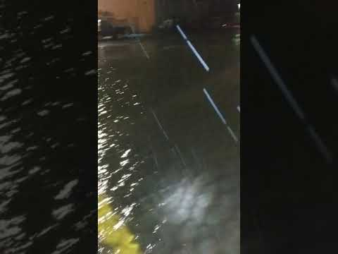Flooding At The Dane County Airport 8/20 - Madison, WI