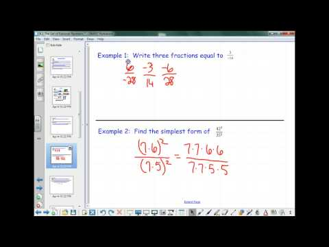 6.1 The Set of Rational Numbers (part 1)