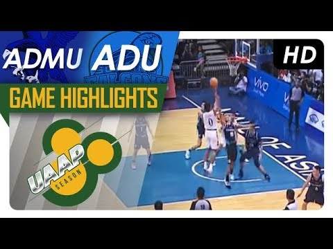 ADMU vs. AdU | Game Highlights | UAAP 80 Men's Basketball | Sept. 9, 2017