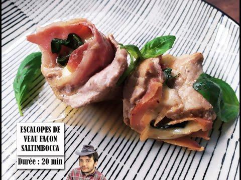 recette-pour-des-escalopes-de-veau-à-la-saltimbocca-romana-et-mozzarella-en-10min,-facile,-délicieux