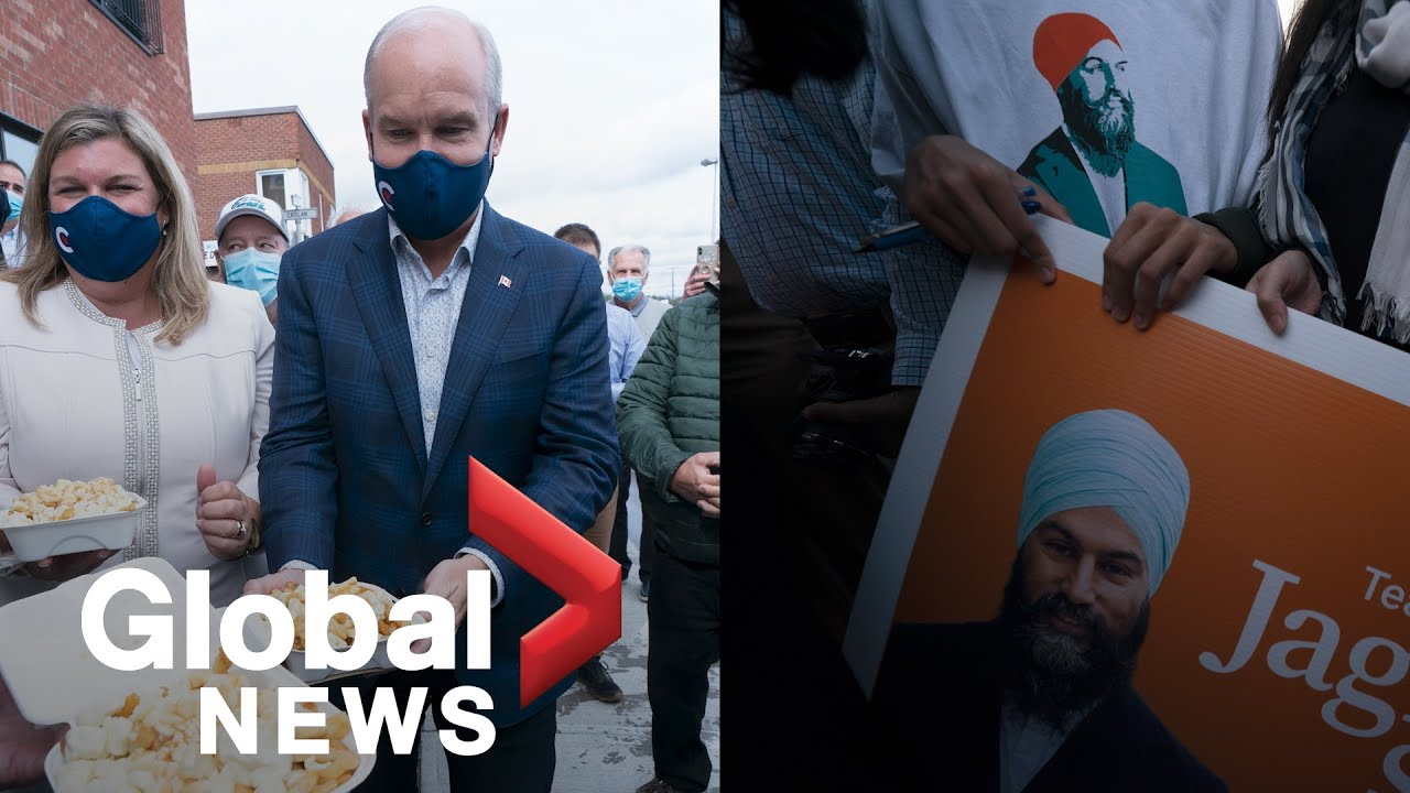 Download Canada election: O'Toole's progressive campaign, NDP candidates drop out and campaign aggression