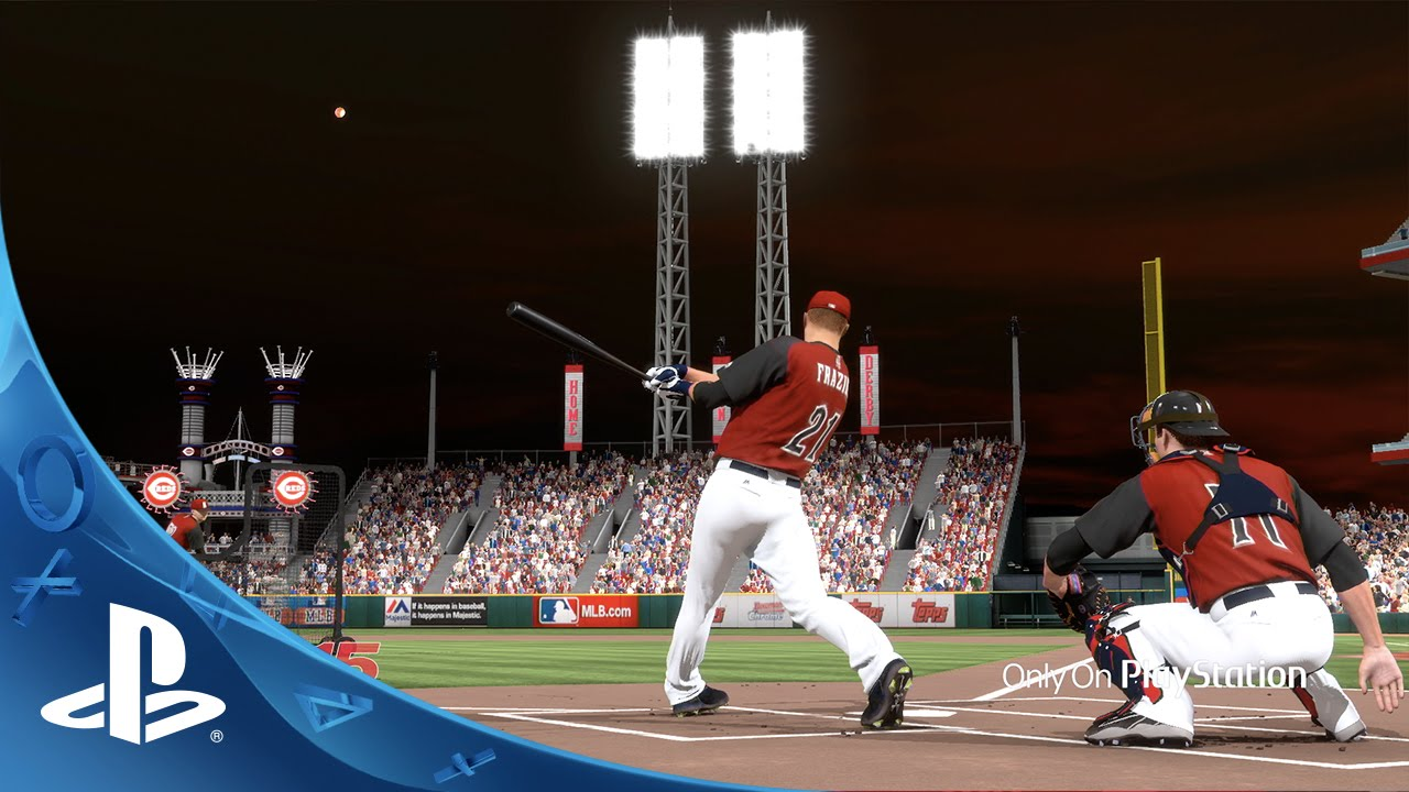 Mlb 15 The Show Official 2015 Home Run Derby Simulation Ps4 Ps3 Ps Vita
