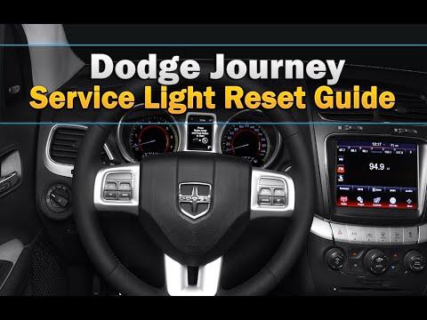 Easy! Service light reset Dodge Journey