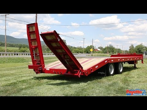 LoneStar Tag Trailers - Hydraulic Ramps Option
