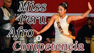 Miss Perú Afro USA - Competencia bailando FESTEJO con Kambalache  Negro. Parte 1 de 3