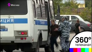 """Около 200 человек требуют разобраться во вчерашнем избиении мигранта в ТЦ """"Москва"""""""