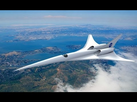 NASA Investing in Eco Friendly Supersonic Travel   Positive News