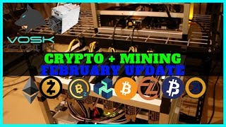 VoskCoin February Cryptocurrency and Mining Farm Update - Diversify Crypto Portfolio