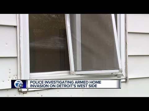 Police investigating armed home invasion on Detroit