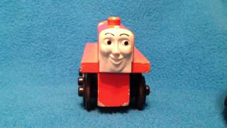 Rare 1992 Terence The Tractor - Thomas The Tank Engine Wooden Railway Toy Discussion Review