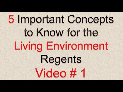 SCORING KEY AND RATING GUIDE June 2011 Living Environment ...