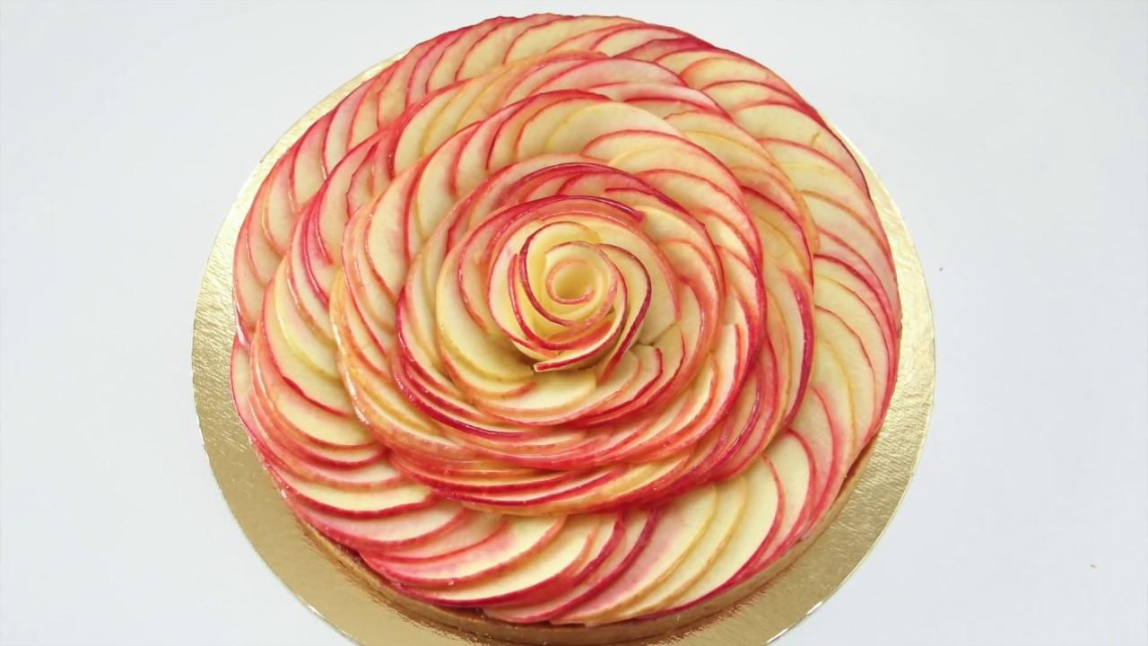 Recette Facile De La Tarte Aux Pommes En Forme De Rose Facon Cedric