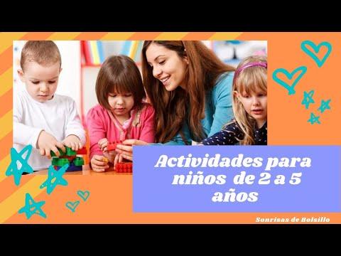 Actividades Para Niños De 2 A 5 Años