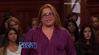 Classic Divorce Court: I Bet The Po Po Know My Name