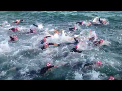 2013 MELBOURNE IRONMAN SWIM  LEG # 1