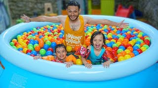 Giant Pool Surprise for My Children