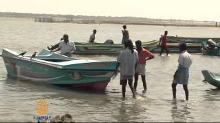 Sri Lankan fishermen struggle to make a living
