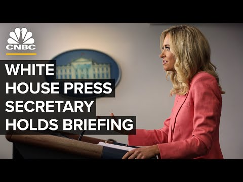 White House Press Secretary Kayleigh McEnany holds briefing